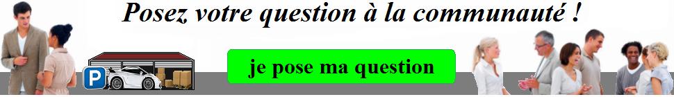 Bannière poser votre question