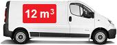 Camionnette d`une capacité de 12 m3
