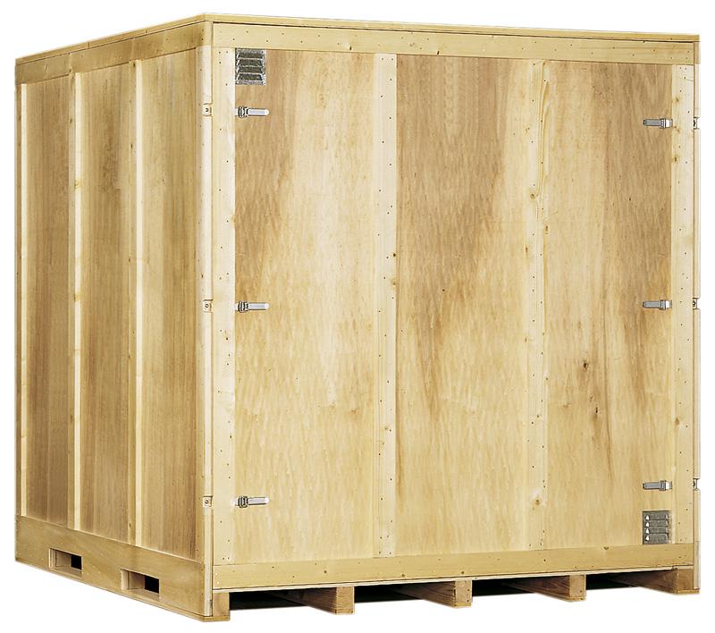 Garde meubles capacité 12 m3 - Bois