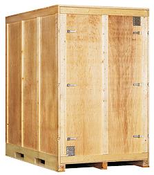 Garde meubles capacité 8 m3 - Bois