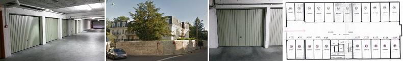 Lot de garages à vendre sur Pontoise