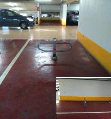 Place de parking à vendre sur Paris 13 place Italie