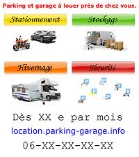 Modèle 5 d`affiche publicitaire pour louer un garage